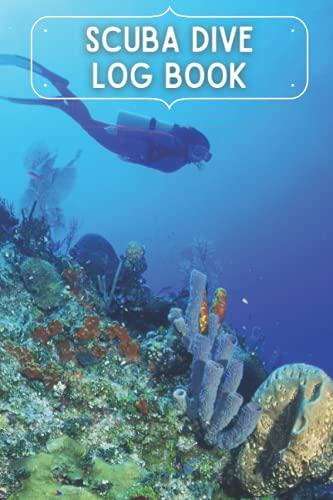Scuba Dive Log Book: Scuba Diving Log Book, ssi divelog, dive log water proof book & Perfect traveler mini size 6x9' Track & Record 100+ Dives
