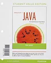 Starting Out with Java: Control Structures through Objects Student Value Edition (5th Edition) 5th edition by Gaddis, Tony (2012) Loose Leaf