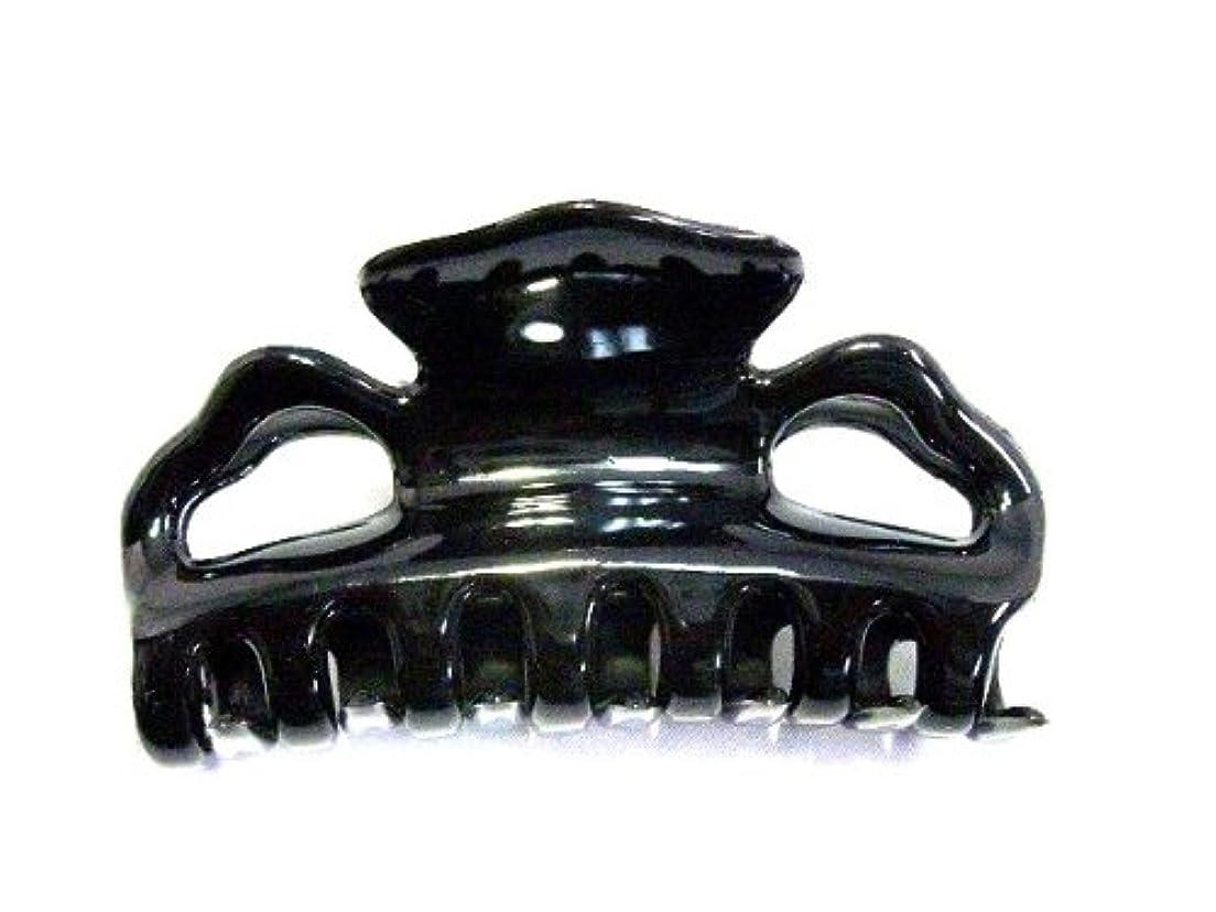 大胆な半球同種の【Made in France】バンスクリップ 8.5cm*ブラック