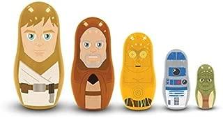 PPW Star Wars Nesting Dolls Jedi and Droids Toy
