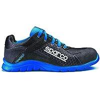 Sparco S0751742NRAZ Zapatillas Practice Negro/Blue Talla 42