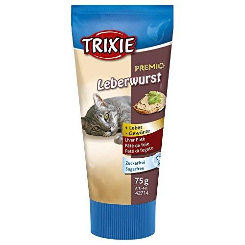 TRIXIE Premio Leberwurst für Katzen - 75 g