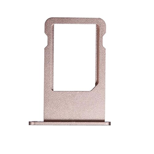 Ewparts SIM Card Tray Replacement for iPhone 6S Plus 5.5 Inch +EWPARTS Cloth (Rose Gold)