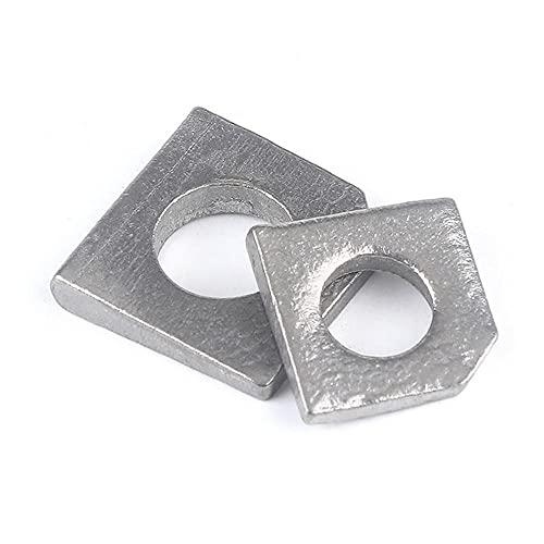 Almohadilla inclinada de acero inoxidable 304, almohadilla plana de acero de tipo de acero limpio, junta GB853, carajo de juntas metálicas, M6-30-M27*5pcs