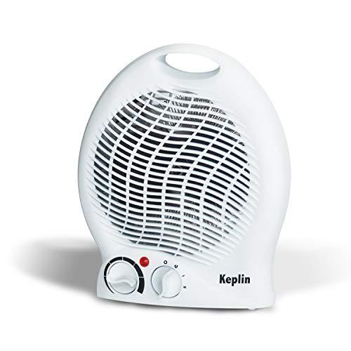 KEPLIN Portable Electric Fan Heater 1000-2000W, Adjustable Thermostat