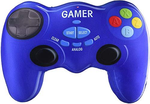 """iscream Juego de. Video Game Control de 18""""x 14"""" micropartículas Accent Almohada"""