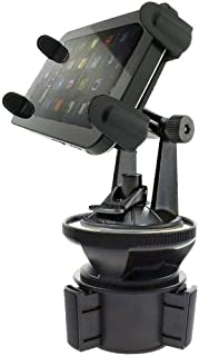 ChargerCity Exclusive Vibration Free Tablet Cup Holder Mount for All Apple iPad Air Mini Pro Google Nexus Samsung Galaxy T...