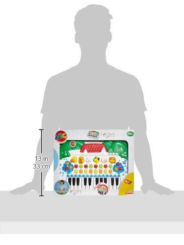 Simba 104018188 – ABC Tier-Keyboard 28x39cm - 3