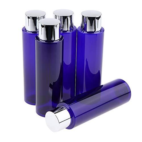 joyMerit 5 Uds, Loción de Maquillaje Recargable Vacía, Botellas de Aceite Esencial, Contenedores de Líquidos - 250ml