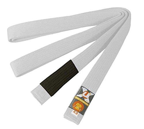 Ju-Sports Brazilian Jiu-Jitsu Gürtel, Weiß, A3 (300)
