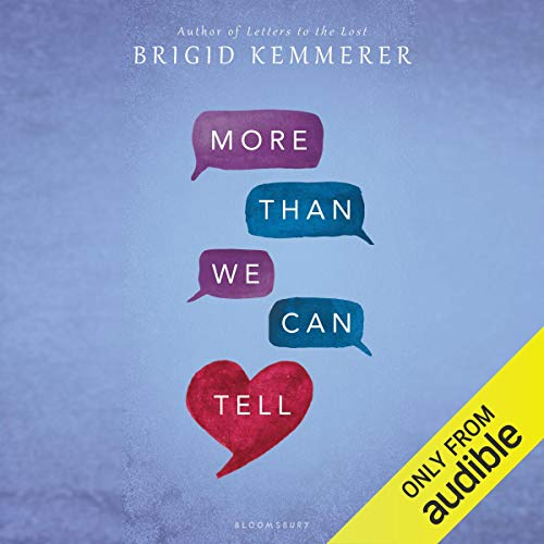 More Than We Can Tell                   By:                                                                                                                                 Brigid Kemmerer                               Narrated by:                                                                                                                                 Stephanie Einstein,                                                                                        Jesse Einstein                      Length: 10 hrs and 46 mins     20 ratings     Overall 4.6