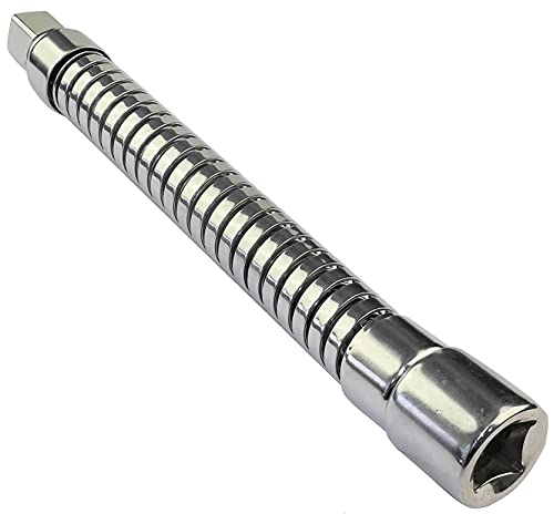 AERZETIX - Extensión alargador punta cuerpo suave flexible - 1/2x195mm - para...