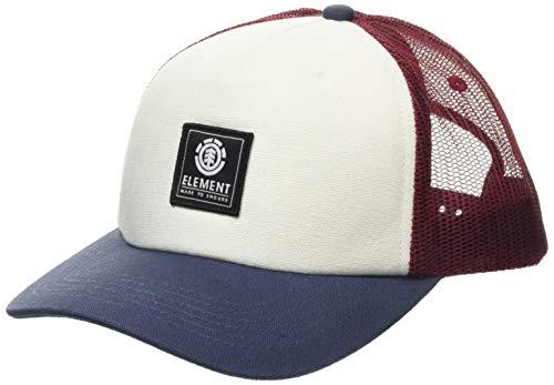 Element Herren Snapback-Kappe Icon Mesh - Snapback-Kappe für Männer, Vintage red, Einheitsgröße, U5CTB7, Einheitsgröße