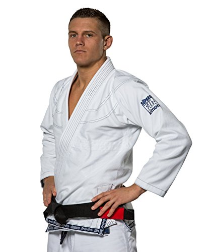 Fuji Suparaito BJJ GI Martial Arts Uniform, White, A4