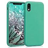 kalibri Cover per Apple iPhone XR - Custodia in Silicone e Paglia - Backcover Matt Anti-Impronte -...