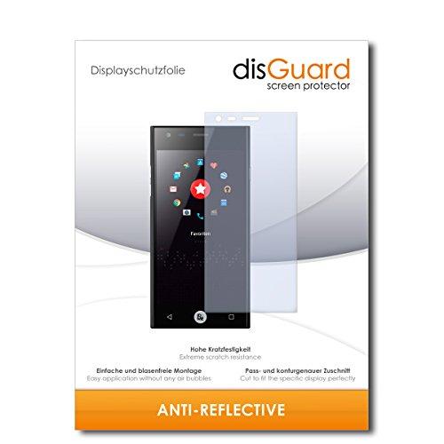 disGuard® Bildschirmschutzfolie [Anti-Reflex] kompatibel mit ID2ME ID1 [3 Stück] Entspiegelnd, Matt, Antireflektierend, Extrem Kratzfest, Anti-Fingerabdruck - Panzerglas Folie, Schutzfolie