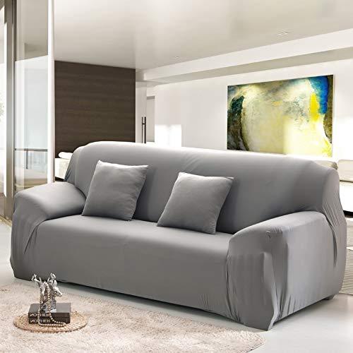 Funda de sofá elástica elástica con Estampado Floral, Toalla de sofá de algodón, Fundas de sofá Antideslizantes para Sala de Estar A6 de 3 plazas