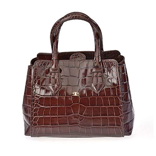 Bolso Carryal Pequeño Mujer piel Coco PIERRE CARDIN 12215 (Marron)
