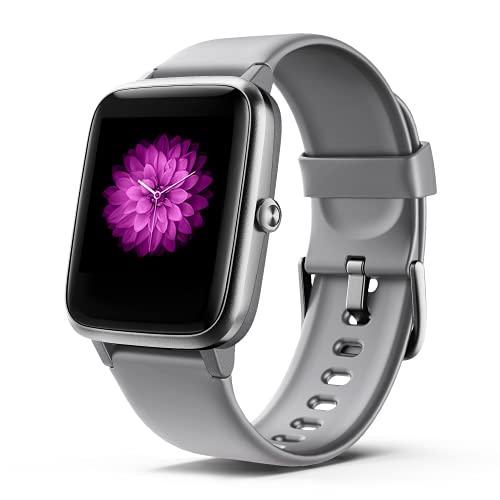Smartwatch Herren Damen, Fitness Armbanduhr, Smart Watch IP68 Wasserdicht Fitness Tracker, 1.3