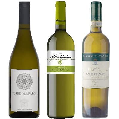 Set Verdicchio vini bianchi Regione Marche 3 bottiglie