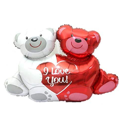 Yililay Globos, Globo de la Hoja del Oso de Fiesta de la Boda decoración de Globos Jumbo te Amo Abrazo para el día de cumpleaños de la decoración de la Boda de Engagemen Valentine