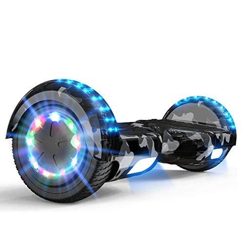MARKBOARD Hoverboard Gyropode Bluetooth 6.5 Pouces, Scooter Electrique Moteur 700W Self-Balance...