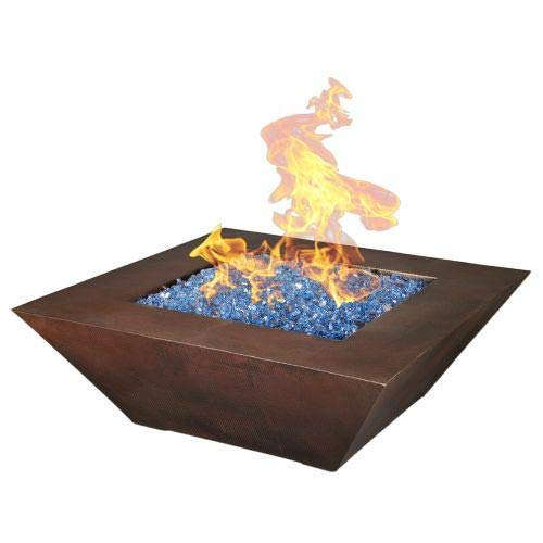 Why Should You Buy Oreq 50x50x17 Cabana Fire Pit with Battery Spark Ignition - NG