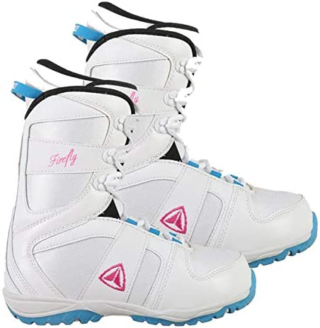 Discount is also underway Firefly Bailey Shipping included C-32 Womens Snowboard Boots 6 8 White Size Pin 10