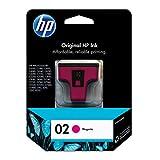 HP 02   Ink Cartridge   Magenta   C8772WN