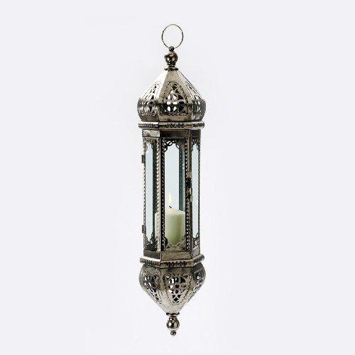 TLW ORIENTALISCHE Laterne Deckenlampe Hängelampe Arabisches Design 62 cm