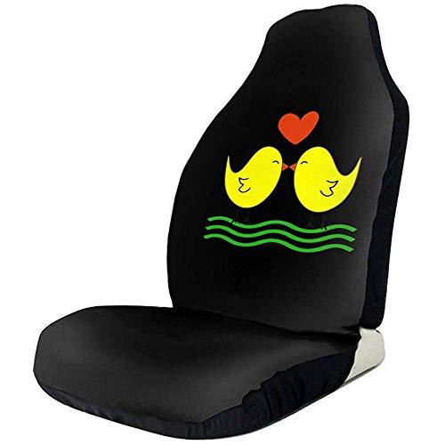 Preisvergleich Produktbild Sobre-mesa Valentine Day Novel Fashion Sign Autositzbezüge Full Set von 1,  Durable Universal Fit die meisten Auto,  LKW,  Geländewagen oder Van
