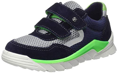 RICOSTA Jungen Davi Sneaker, Blau (Nautic/Teer 172), 34 EU