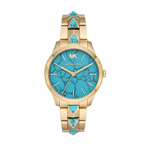 Michael Kors Reloj Analógico para Mujer de Cuarzo con Correa en Acero Inoxidable MK6670
