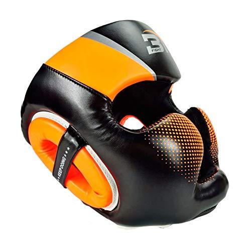 HOUJIA Kopfschutz Boxen,Kopfschutz mit...