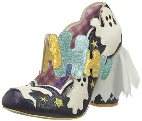 Irregular Choice Damen Ectoplasmic Pumpe, Navy, 39 EU