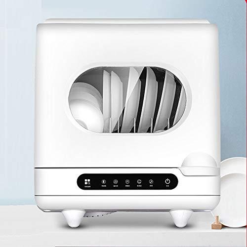 Bureau domestique lave-vaisselle / lave-vaisselle automatique / pas nécessaire d'installer / 72 ℃ haute température et aucun coin mort à laver / 4 modes de nettoyage / vaisselle fonction de stockage