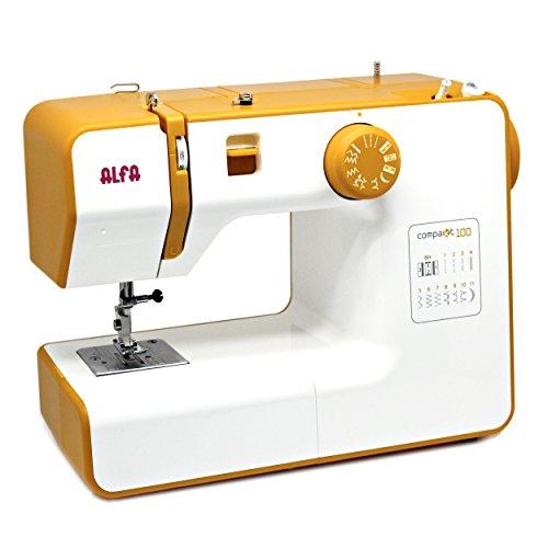 Alfa Compact100 Compakt 100 – La mejor máquina de coser compacta y ligera