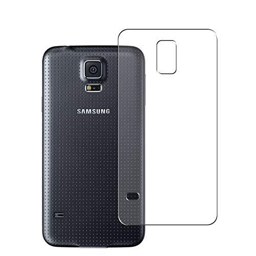 Vaxson 2 Unidades Protector de pantalla Posterior, compatible con Samsung Galaxy S5 Neo [No Vidrio Templado] TPU Película Protectora Espalda Skin Cover