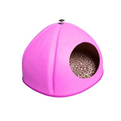 Chengxin bedden & sofas huisdiernest met vier seizoenen pompoenen, gesloten kattennest, winterhondennest, kattennest, hoofdkattennest, warm kattennest bedden & sofas