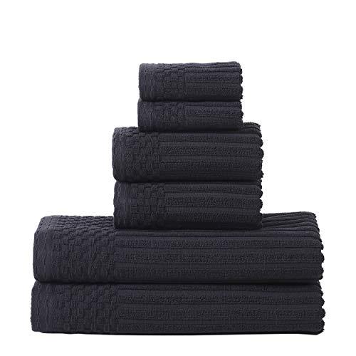 Superior Soho - Juego de toallas (100% algodón, 6 unidades)