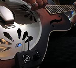 DOBRO GUITAR PICKUP, with FLEXIBLE MICRO-GOOSE NECK by Myers Pickups