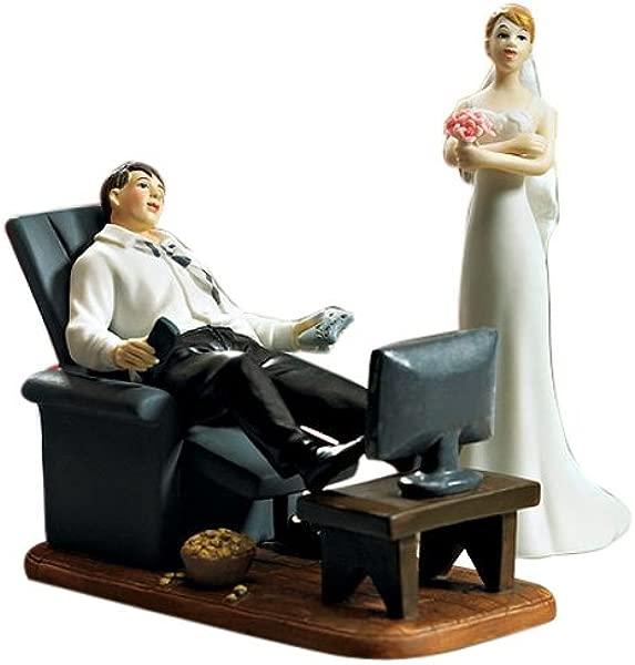 Weddingstar Couch Potato Groom Figurine