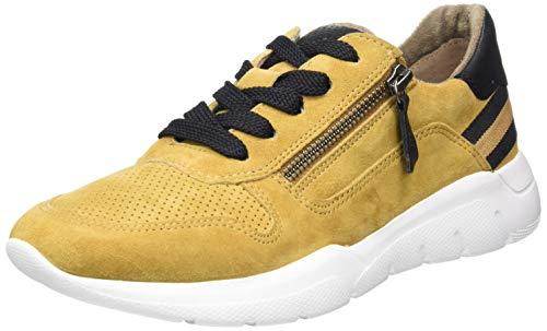 Jana 100% comfort Damen 8-8-23728-25 Sneaker, Saffron Comb, 43 EU