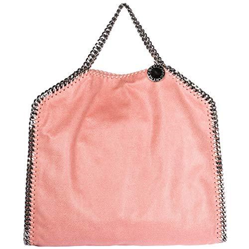 Stella McCartney damen falabella fold over Handtaschen rosa