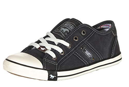 MUSTANG Damen 1099-302 Sneaker (Full Black, Numeric_38)