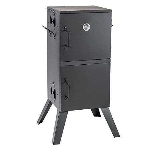 TecTake BBQ Charcoal barbecue smoker with heat indicator - different models - (BBQ Food Smoker (401412))