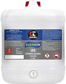 ISO20L 20 Litre 100% Isopropyl Drum Isopropanol/Alcohol Drum - 9342114002497