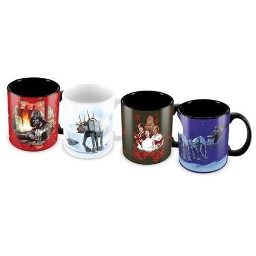 Star Wars Weihnachten Esspresso Tasse (Set von 4)