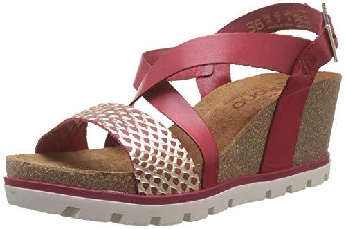 Yokono Women's Mavile 005 Escale/Vaquetilla Open teen sandalen