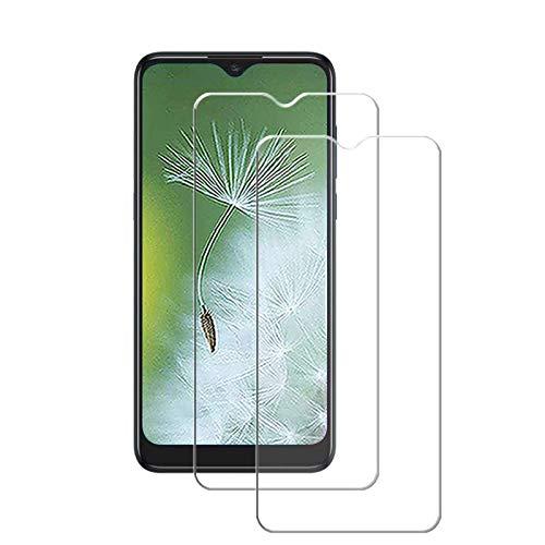 MSOSA Kompatibel mit Panzerglas Alcatel 3L 2020 Schutzfolie, [2 Stück] 9H Festigkeit Panzerglasfolie HD Bildschirmschutzfolie Vollständige Abdeckung Glas Folie für Alcatel 3L 2020